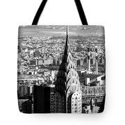 Crysler Building In New York City Tote Bag