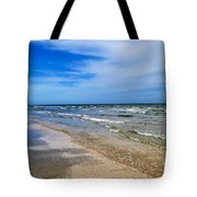 Crystal Beach Tote Bag