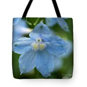 Crystal Blue Tote Bag
