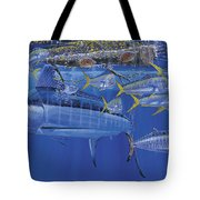 Crystal Blue Off00100 Tote Bag
