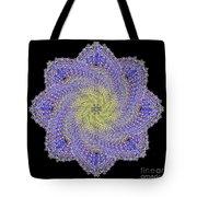 Crystal Blue Salvia Tote Bag