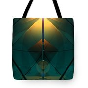 Crystal Cathedral Tote Bag