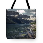 Crystal Clear Mountain Lake Tote Bag