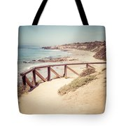 Crystal Cove Overlook Picture Tote Bag by Paul Velgos