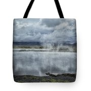 Crystal Crane Hot Springs Tote Bag
