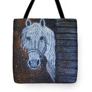 Crystal Door Opening Tote Bag by The Art With A Heart By Charlotte Phillips