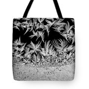 Crystal Feathers Tote Bag