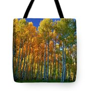 Crystal Grove Tote Bag