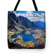 Crystal Lake Tote Bag by Inge Johnsson