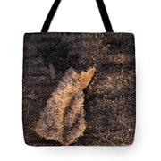 Crystal Leaf Tote Bag by Anne Gilbert