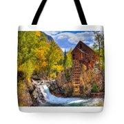 Crystal Millin Tote Bag