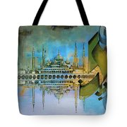 Crystal Mosque Tote Bag