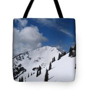 Crystal Mountain Bluest Sky Tote Bag