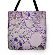 Crystal Pink Abstract Tote Bag
