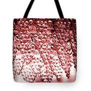 Crystal Red Tote Bag