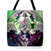 Crystal Royale Fractal Tote Bag