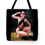 Crystal Slingsuit Tote Bag