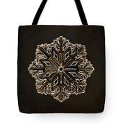 Crystal Snowflake Tote Bag