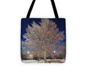 Crystal Tree Tote Bag
