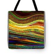 Crystal Waves Abstract 1 Tote Bag
