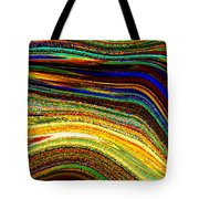 Crystal Waves Abstract 2 Tote Bag