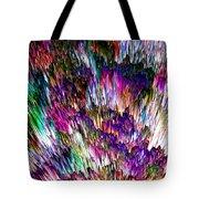 Crystalline Crimsonicity Tote Bag