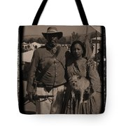 Csa Cavalryman And Wife Tote Bag