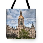 Ct State Capitol Building Tote Bag