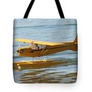 Cub On Floats Tote Bag
