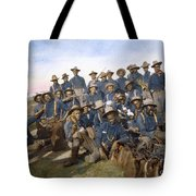Cuba - Tenth Cavalry 1898 Tote Bag