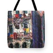 Cuba Edificios Tote Bag
