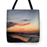 Cuban Sunset Tote Bag