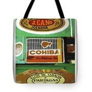 Cubanos Tote Bag