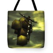Cube Cross Tote Bag