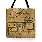 Cubed II Tote Bag