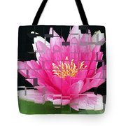 Cubed Lily Tote Bag