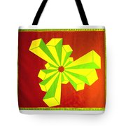 Cubism In Wheat-shire Tote Bag