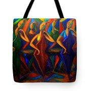 Cubism Music I Tote Bag