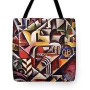 Cubist Cityscape, 1914 Tote Bag