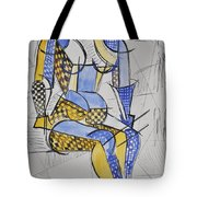Cubist Expression Tote Bag
