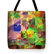 Flowers In Round Bowls - Outdoor Markets Of New York City Tote Bag