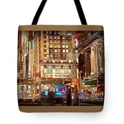 Grand Central And 42nd St Tote Bag