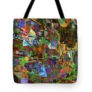Night Market - Outdoor Markets Of New York City Tote Bag