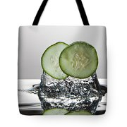 Cucumber Freshsplash Tote Bag