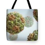 Cucumber Mosaic Virus Tote Bag