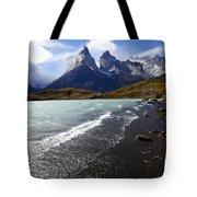 Cuernos Del Paine Patagonia 3 Tote Bag