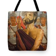 Cuiseufiction Of Christ  Tote Bag