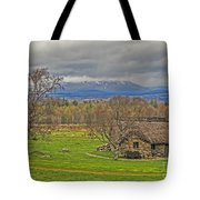 Culloden Moor And Old Leanarch Tote Bag