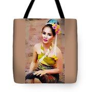 Culture Girl Tote Bag