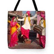 Culture Of Punjab Tote Bag